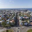 Aerial view of Reykjavik, the capital of Iceland — Stock Photo #77118537