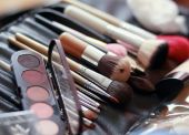 Make-up collection. — Stock Photo