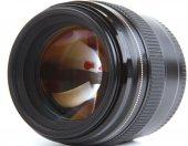 Professional photo lens closeup, isolated on white background — Stock Photo