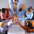 Business team with hands together - teamwork concepts — Stock Photo #74078157
