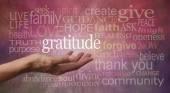 Gratitude Attitude — Stock Photo