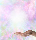 Spiritual Message Board Background — Stock Photo