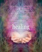 Receiving healing — Stock Photo