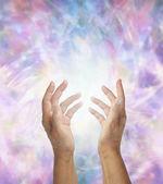 Gentle healing energy — Stock Photo