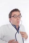 狂った医者 — ストック写真