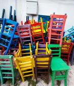 色の椅子 — Stock fotografie