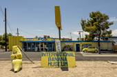 International Banana Museum — Stock Photo