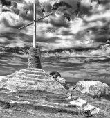 Leonard Knight Salvation Mountain — Stock Photo