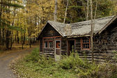 Cabana abandonada — Foto Stock