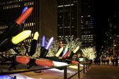 Giant Christmas Ornaments — Stock Photo