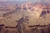 Grand Canyon Vista - Mohave Point — Stock Photo