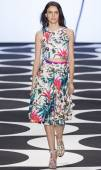 Nicole Miller - 2015 Spring Collection — Stock Photo