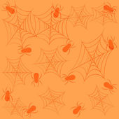 Holiday seamless background on theme of Halloween — Stock Vector