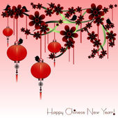 Holiday postcard to the Chinese New Year 2015 — Stock Vector