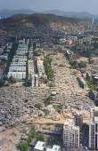 Aerial view of Mumbai slums — Stock Photo