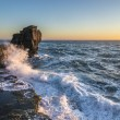 Pulpit Rock in Stormy Seas — Stock Photo #58208903