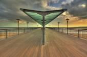 Boscombe Pier — Stock Photo