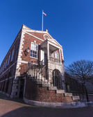 Poole Guildhall in the old town district — Stock Photo