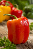 Red bell pepper — Stock Photo