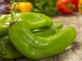 Hatch chili peppers — Stock Photo