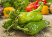 Hatch peppers — Stock Photo