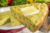 Freshly baked cornbread — Foto de Stock