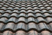 Roof tile texture background for continuous replicate. — Stock Photo