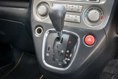Automatic transmission gear shift. — Stock Photo