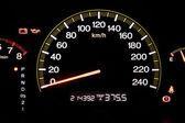 Closeup car dashboard — Stock Photo
