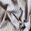 Постер, плакат: Striped cotton linen texture fabric