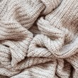 Постер, плакат: Knitted wool texture fabric