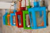 Colored lanterns — Stockfoto
