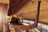 Khufu ship. Full-size vessel from Ancient Egypt — Photo
