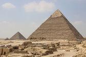 Great Pyramids of Giza. Cairo. Egypt — Foto de Stock