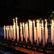 Burning candles in a church. N5 — Stock Video #61938619