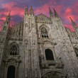 Milan cathedral dome - Italy — Stock Photo #62458303