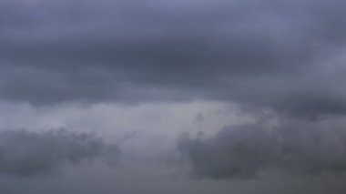 Storm clouds. Background. Time Lapse — Stock Video