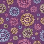 パターンの花 — ストックベクタ