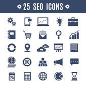Icons SEO — Vector de stock