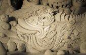 Sand stein skulptur — Stockfoto