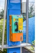 Color full telephone — Stock Photo