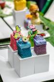 Color full cake — Stock Photo