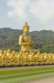 Buddha and disciples — Stock Photo