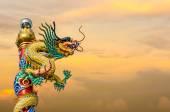 中国のドラゴン、ploe に — ストック写真