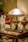 Retro clock — Stock Photo