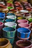 Colorfull potery — Zdjęcie stockowe