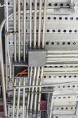 Mechanic pipe line — Stock Photo