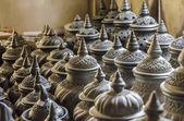 Thai pattern clay — Stock Photo