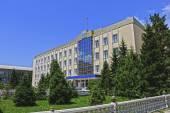 Administrative building in Naryn — Stok fotoğraf