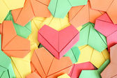 Paper heart background — Stock Photo